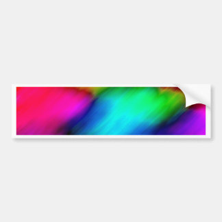 Psychedelic Colours Bumper Stickers