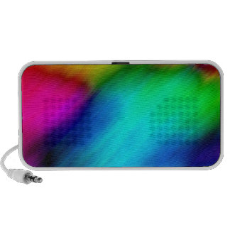 Psychedelic Colours Travel Speakers