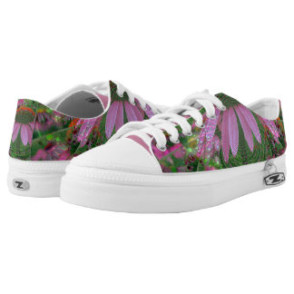 Psychedelic Cone Flower Shoes