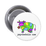 psychedelic cow buttons