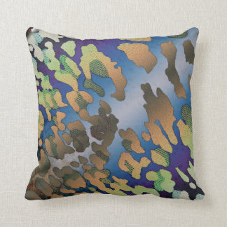 Psychedelic Cowhide Pillows Cushion