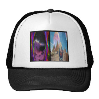 Psychedelic Cube Hat
