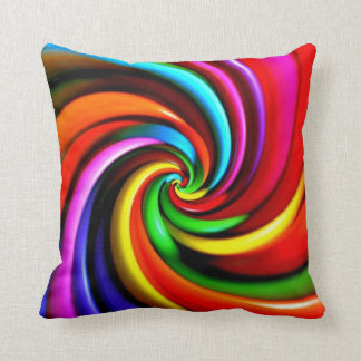 Psychedelic cushion PIYOBIGI piyobigi