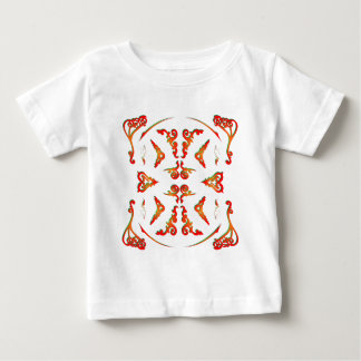 Psychedelic Decorative Patterns: Vector Art: Baby T-Shirt