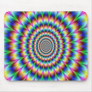 Psychedelic Design Mouse Mat