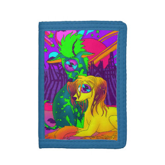 Psychedelic Dogs Wallet