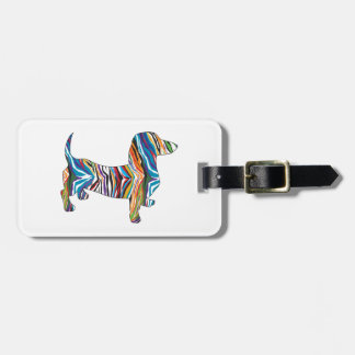 Psychedelic Doixe Luggage Tag