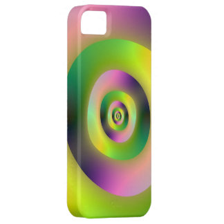 Psychedelic Doughnuts Case For The iPhone 5