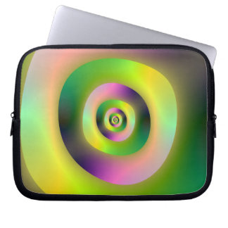 Psychedelic Doughnuts Laptop Sleeve