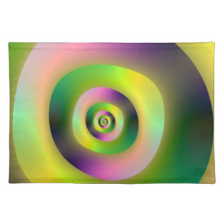 Psychedelic Doughnuts Placemats