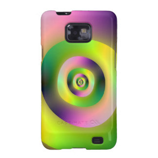 Psychedelic Doughnuts  Samsung Galaxy S Samsung Galaxy SII Covers