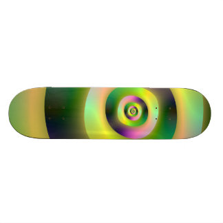 Psychedelic Doughnuts Skateboard