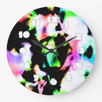Psychedelic Dream Large Clock