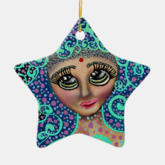 Psychedelic Dreamer Christmas Ornament