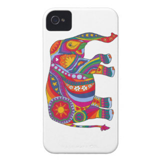 Psychedelic Elephant iPhone 4 Cover