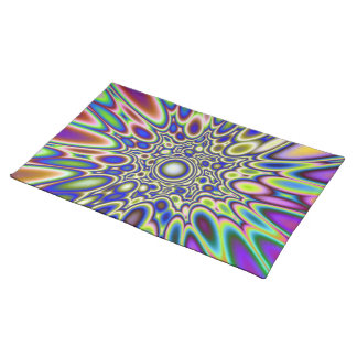 Psychedelic Explosion American MoJo Placemats