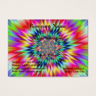 Psychedelic Explosion Business Card