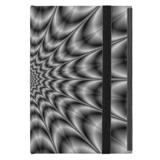 Psychedelic Explosion In Black and White Cover For iPad Mini