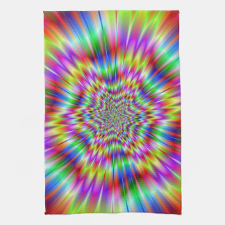 Psychedelic Explosion Kitchen Towels