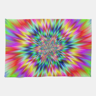 Psychedelic Explosion Towels