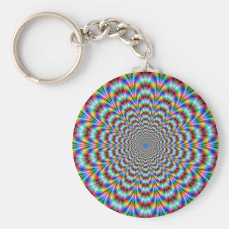 Psychedelic Eye Bender Keychain