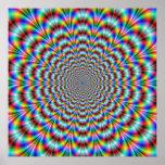 Psychedelic Eye Bender Poster