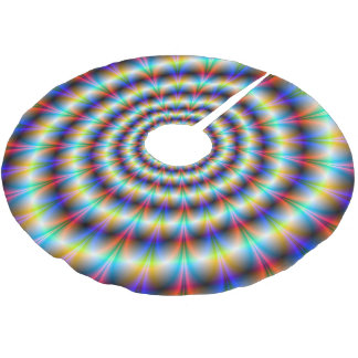 Psychedelic Eye Brushed Polyester Tree Skirt