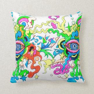 Psychedelic Eye Cushion