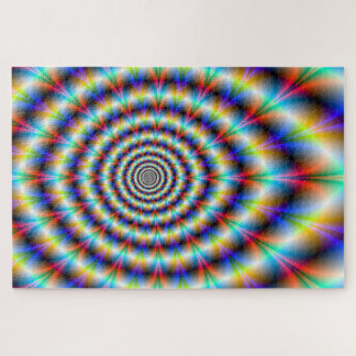 Psychedelic Eye Jigsaw Puzzle