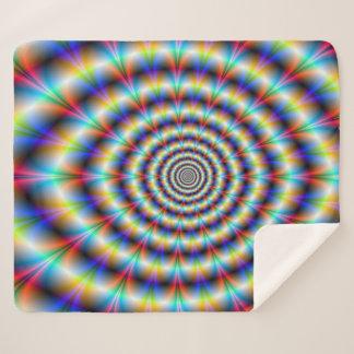 Psychedelic Eye Sherpa Blanket
