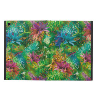 Psychedelic Fairy Garden Cover For iPad Air