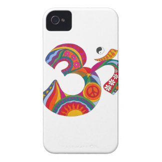 Psychedelic Fat Om iPhone 4 Cover
