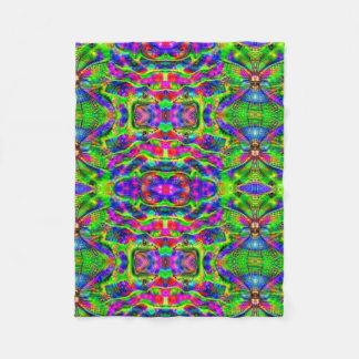 Psychedelic Fleece Blanket
