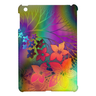 Psychedelic Floral Cover For The iPad Mini