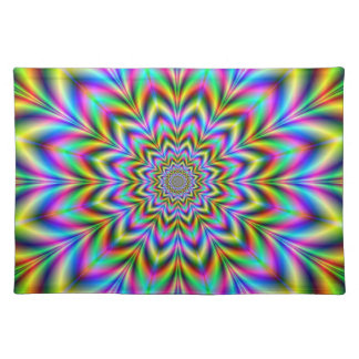 Psychedelic Flower American MoJo Placemats