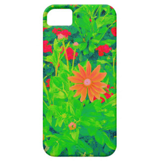 Psychedelic Flower Bed 01 iPhone 5 Covers