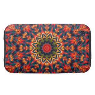 Psychedelic  Flower iPhone 3 Tough Cover