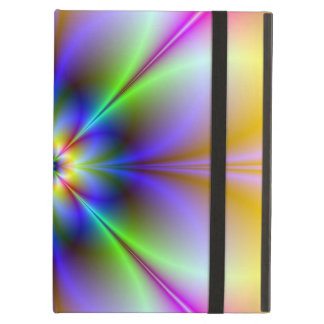 Psychedelic Flower iPad Case with Kickstand