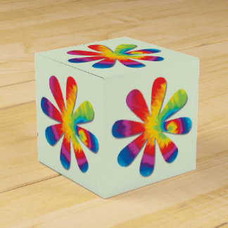 Psychedelic Flower Party Favour Boxes