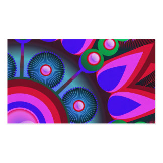 Psychedelic Flower Power Art Pack Of Standard Business Cards