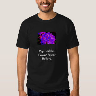 Psychedelic flower power shirt