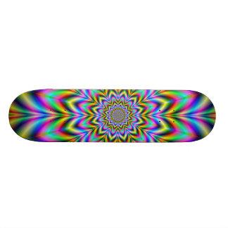 Psychedelic Flower Skateboard