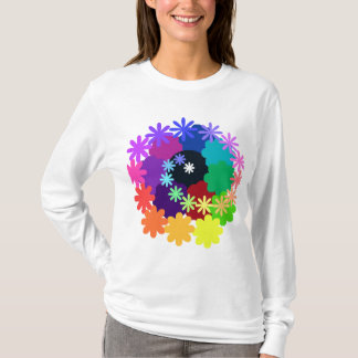 Psychedelic Flowers Long Sleeve Shirt