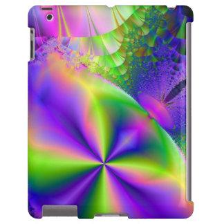 Psychedelic Fractal 87 ~ iPad Case