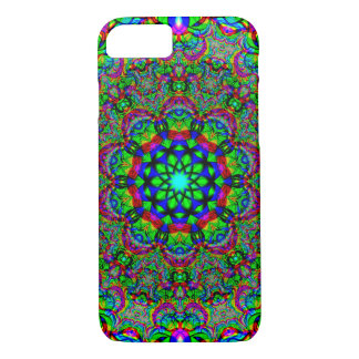 Psychedelic/Fractal Flower iPhone 8/7 Case
