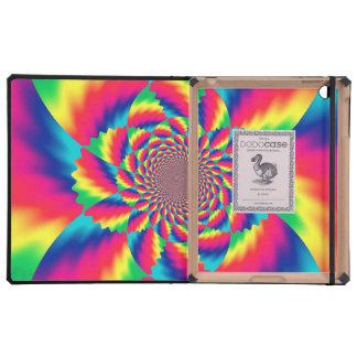 Psychedelic Fractal Pattern DoDo iPad Case