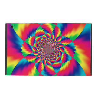 Psychedelic Fractal Pattern Powis iPad Case