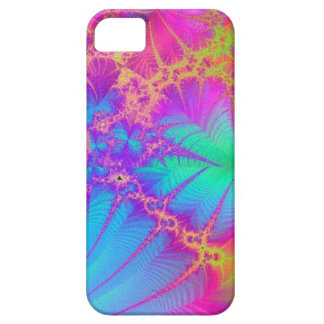 Psychedelic Fractal Rainbow iPhone 5 Case
