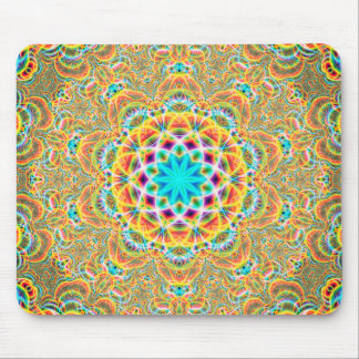 Psychedelic Fractals Mouse Mat