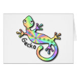 Psychedelic Gecko notecards